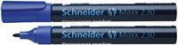 Schneider Viltstift  230 rond blauw 1-3mm