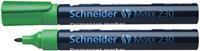 Schneider Viltstift  230 rond groen 1-3mm