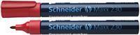 Schneider Viltstift  230 rond rood 1-3mm