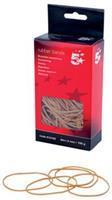 5 Star elastieken 1,5 mm x 80 mm, doos van 100 g