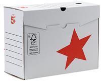 5 Star transfer archiefdoos, ft A4, rug van 20 cm