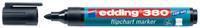 Edding Viltstift  380 flipover rond zwart 1.5-3mm