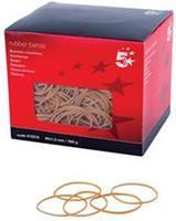 5 Star elastieken 1,5 mm x 60 mm, doos van 500 g