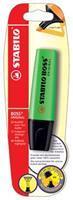 Markeerstift Stabilo Boss Original groen (op blister)