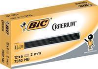 BIC Conté criterium Gilbert mines etui van 6 potloodstiften van 2 mm