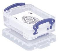 Really Useful Box visitekaarthouder 0,2 liter, transparant
