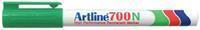 Artline Viltstift  700 rond groen 0.7mm