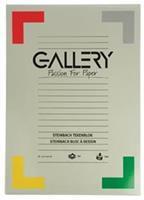 Gallery Steinbach tekenblok, gekorreld, ft 29,7 x 42 cm (A3), 250 g/m², blok van 20 vel