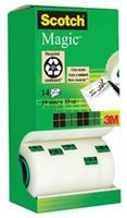 Scotch Magic-tape torenverpakking transparant 19 mm x 33 m verpakking van 14 (pak 14 rollen)