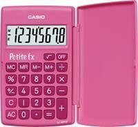 Casio Rekenmachine  basisschool roze