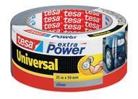 Universal tape 25mx50mm extra power zilver
