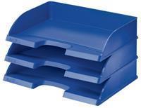 Leitz Brievenbak Plus dwars Standaard. capaciteit 500 vel. blauw