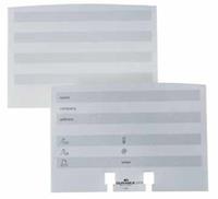 Durable Uitbreidingsset Telindex®Flip visitekaarthouder Insteekkaarten (pak 100 stuks)