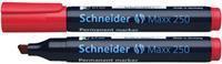 Schneider permanent marker Maxx 250 rood