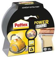 Pattex Powertape 50 mm x 25 m. zilver (rol 25 meter)