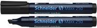 Schneider permanent marker Maxx 250 zwart