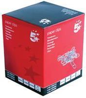 5 Star papierklemmen 26 mm gepunt, doos van 1000 stuks