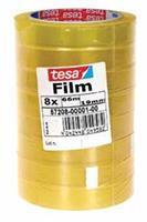 Tesafilm Standard, ft 19 mm x 66 m, toren met 8 rolletjes