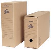 Archiefdoos Loeff box 370 x 260 x 115 mm (pak 50 stuks)