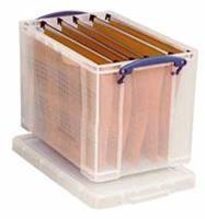 RUP opbergboxen 19 L. b 395 x h 290 x d 255 mm. A4 papier/ A4 hangmappen