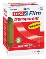 Tesafilm transparante tape, ft 19 mm x 66 m, 8 rolletjes
