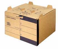 Loeff Archiefcontainer Jumbo 425 x 280 x 400 mm (doos 15 stuks)