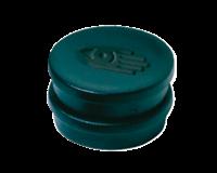 Legamaster Magneet rond 10 mm. magneetsterkte 150 gram. zwart (pak 10 stuks)