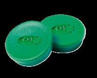 Legamaster Magneet rond 10 mm. magneetsterkte 150 gram. groen (pak 10 stuks)