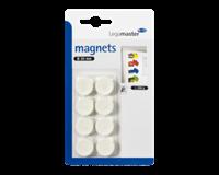 Legamaster Magneet  20mm 250gr wit 8stuks