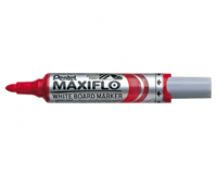 Pentel Viltstift  MWL5M Maxiflo whiteboard rood 3mm