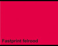 Fastprint Kopieerpapier  A4 80gr felrood 100vel