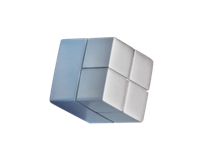SI-GL196 Magneet Voor Glasbord 20x20x20mm Zilver Extra Sterk 1 Stuk