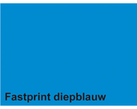 Fastprint Kopieerpapier  A4 160gr diepblauw 50vel
