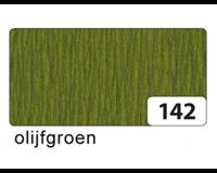 Folia crêpepapier olijfgroen