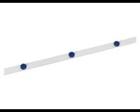 maul Metaalband  1mx35mm zelfklevend wit + 3 magneten