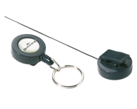 Durable Afrolmechanisme  8222 met sleutelring 80cm antraciet