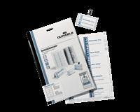 Durable Badgekaart  1451 bedrukbaar 30x60mm 540stuks