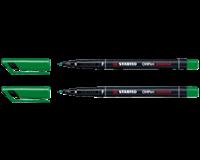 Stabilo Viltstift  OHP 842/36 rond groen 0.7mm