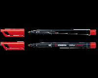 Stabilo Viltstift  OHP 843/40 rond rood 1mm
