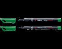 Stabilo Viltstift  OHP 841/36 rond groen 0.4mm