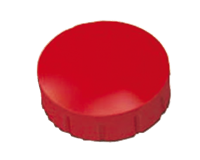 Magneet  Solid 15mm 150gr rood
