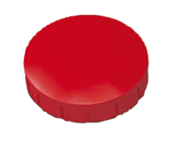 MAUL Magneet  Solid 20mm 300gr rood