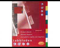 Multo Tabbladen  23-gaats A4 10-delig assorti PP
