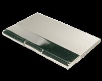 MTM Visitekaartenhouder metaal/chroom