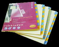 Multo Tabbladen  A4 23-gaats 12-delig jan-dec karton 190gr