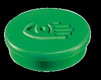 Legamaster Magneet  35mm super 2500gr groen 2stuks