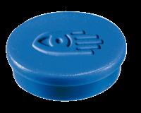 Legamaster Magneet  35mm super 2500gr blauw 2stuks