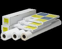 hp Inkjetpapier  Q1412A 610mmx30.5m 120gr universal coated