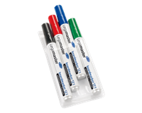 Legamaster Viltstift  TZ1 whiteboard rond assorti 1.5-3mm 6st