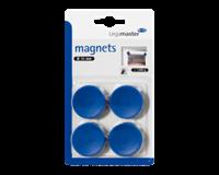 Legamaster Magneet  35mm 1000gr blauw 4stuks